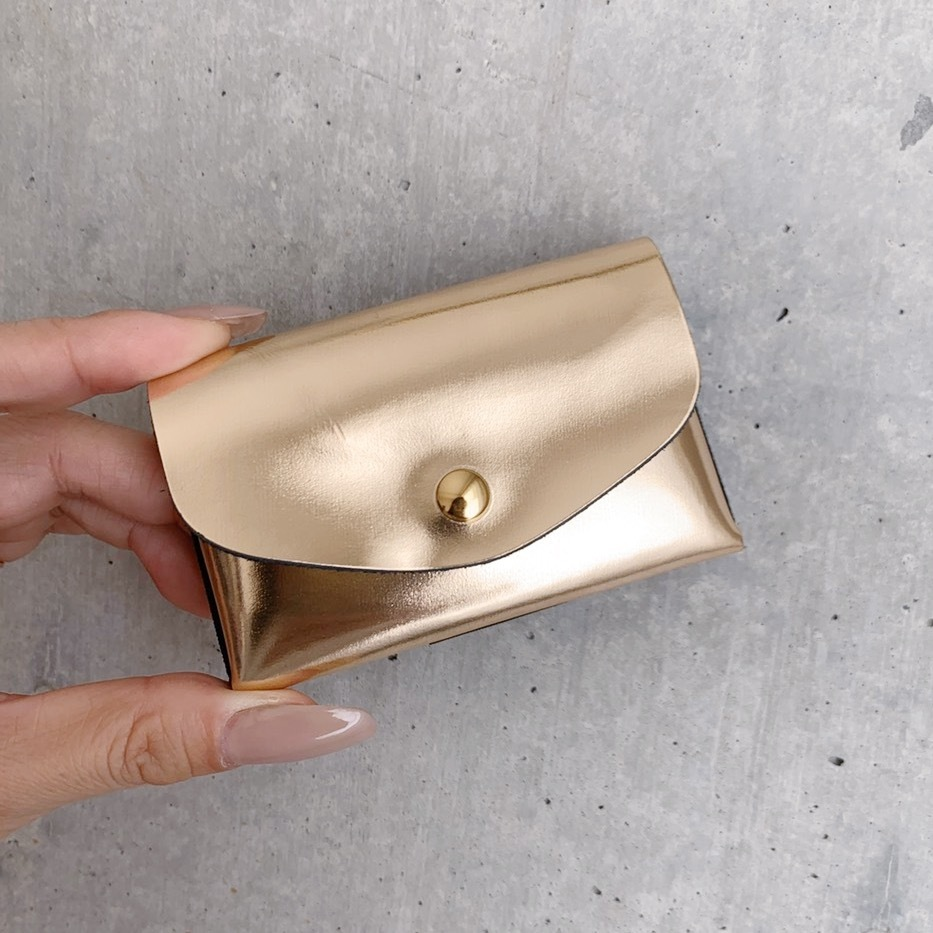 enrich everyday × com-ono Everyday TINY Wallet/GOLD (ゴールド)