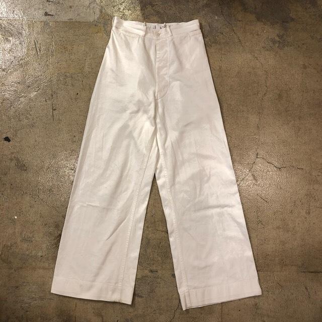40-50's U.S.Military Deck Pants