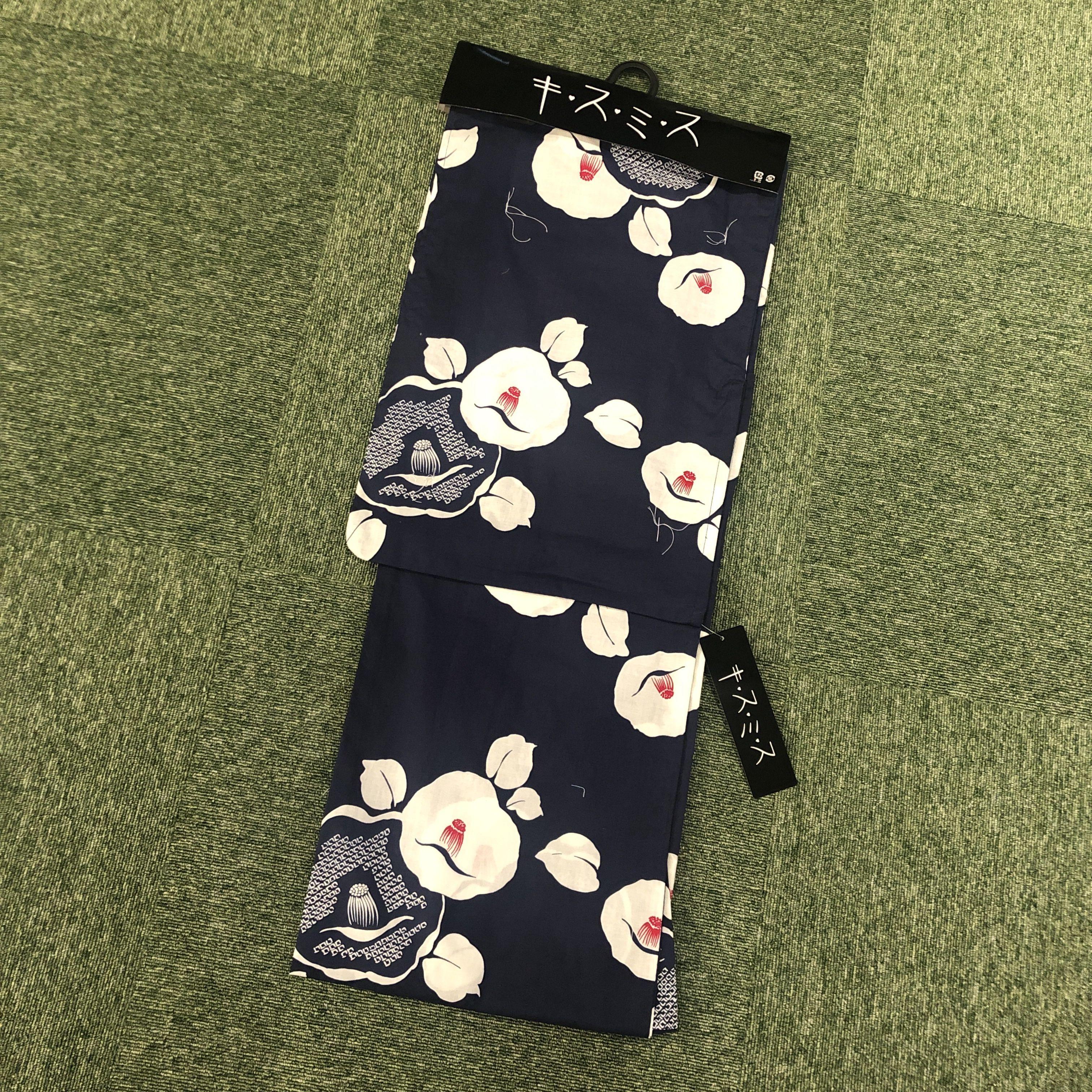 浴衣 レディース 単品 キスミス ブランド <黒> Yukata