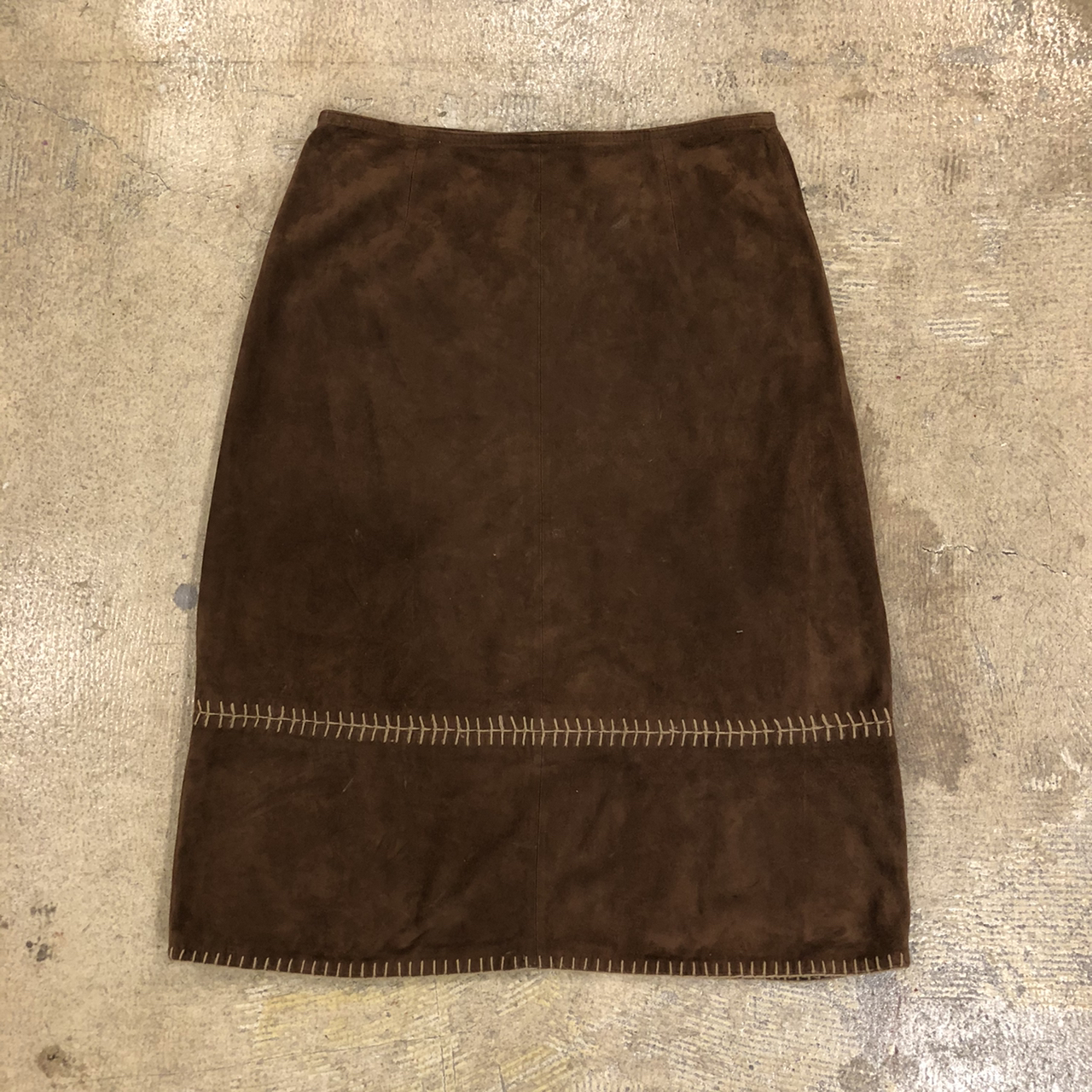Suede Type Skirt ¥5,400+tax