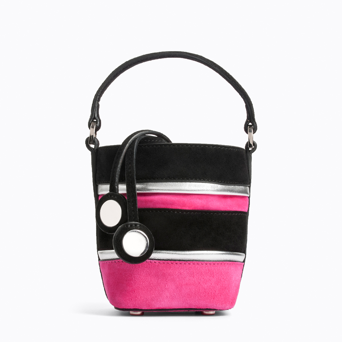 PIERRE HARDY BUCKET PARTY BAG PINK
