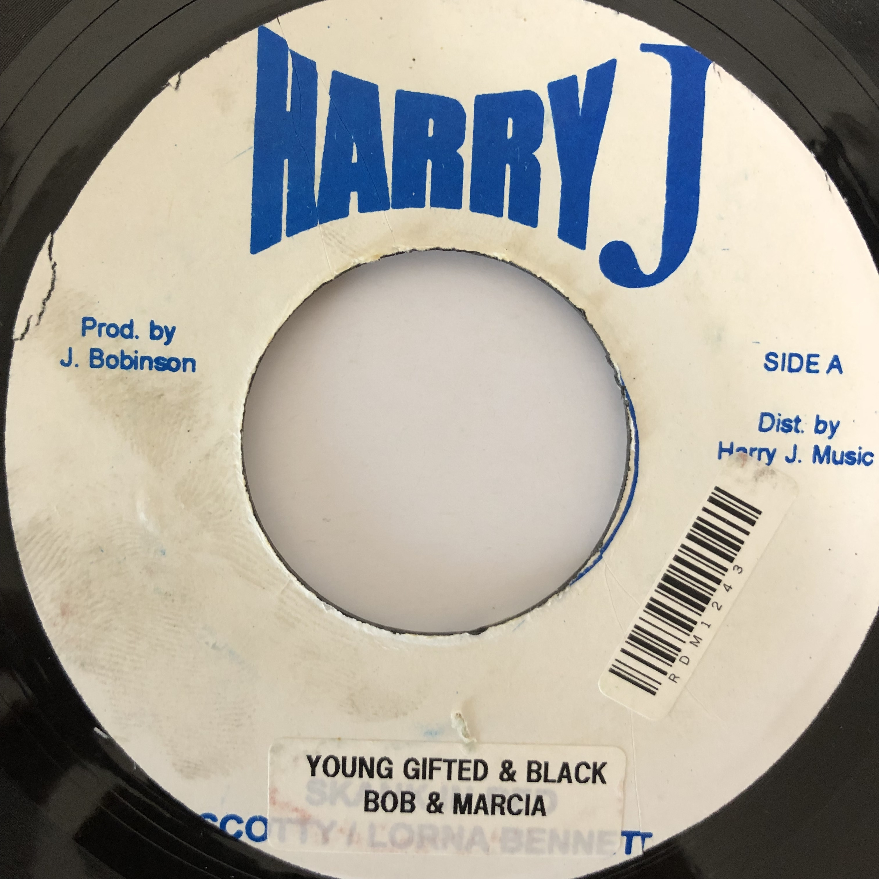 Bob & Marcia - Young Gifted & Black【7-20236】