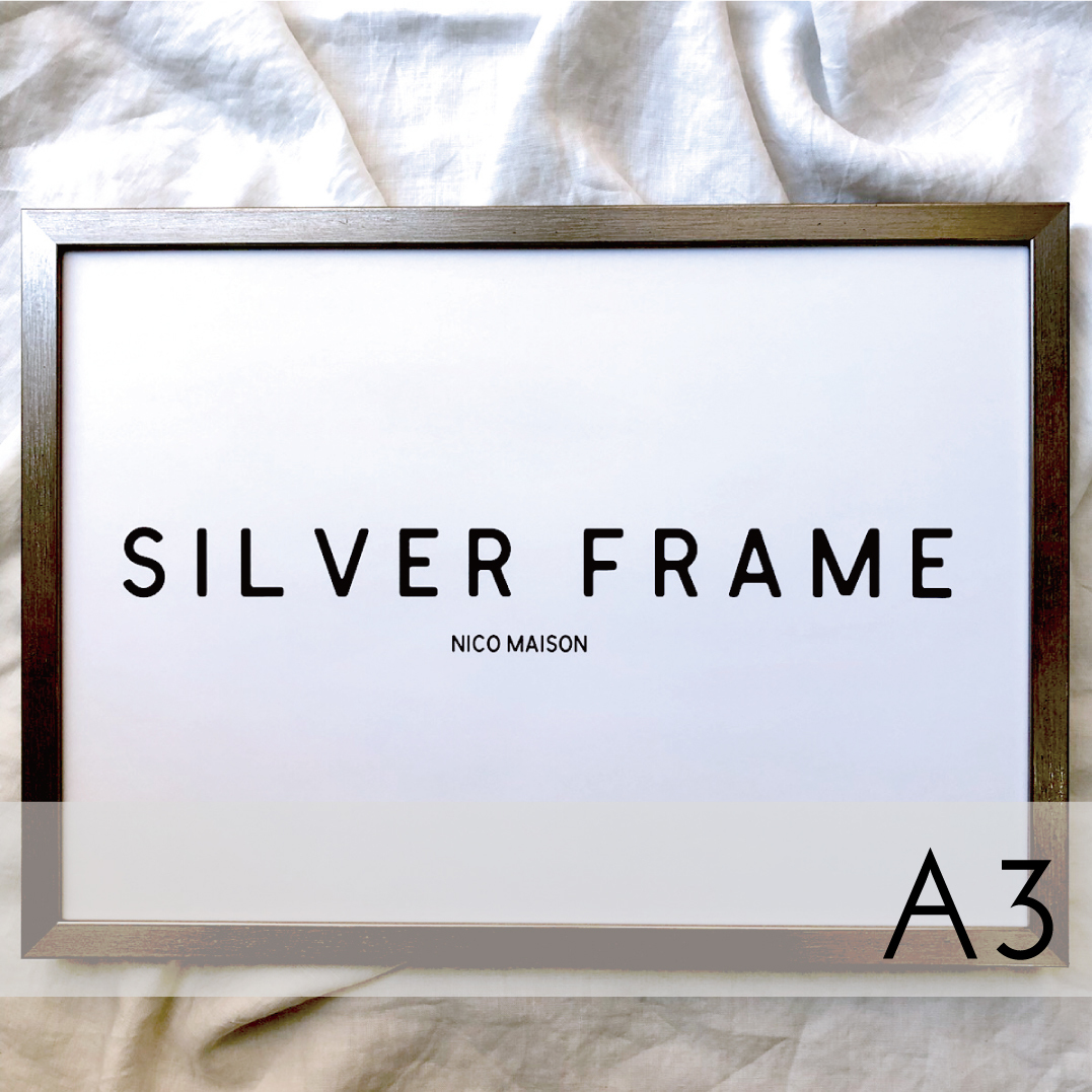 frame:シルバー A3サイズ
