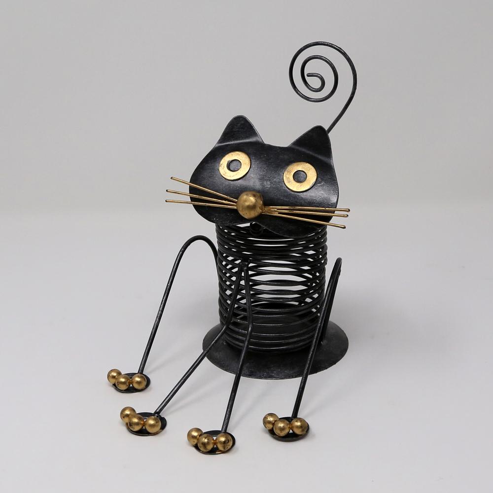 猫ペンスタンド(おとぼけクロネコ)