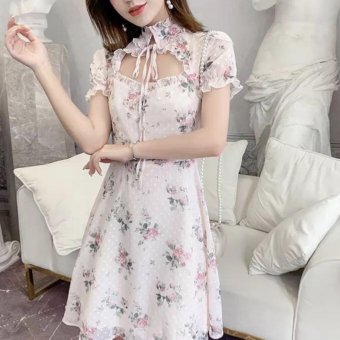 ローズピンクミニドレス