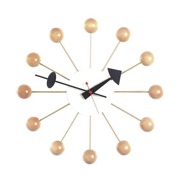 Vitra Ball Clock ナチュラル