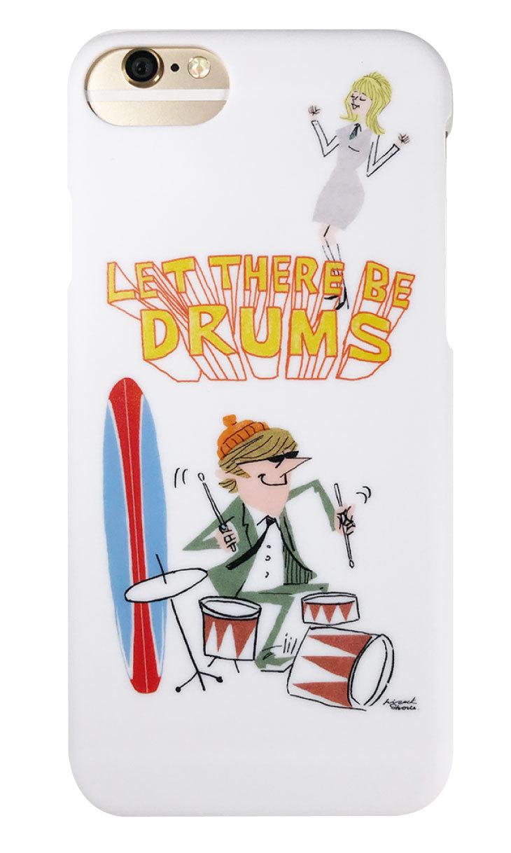 drums つや消しハードケース