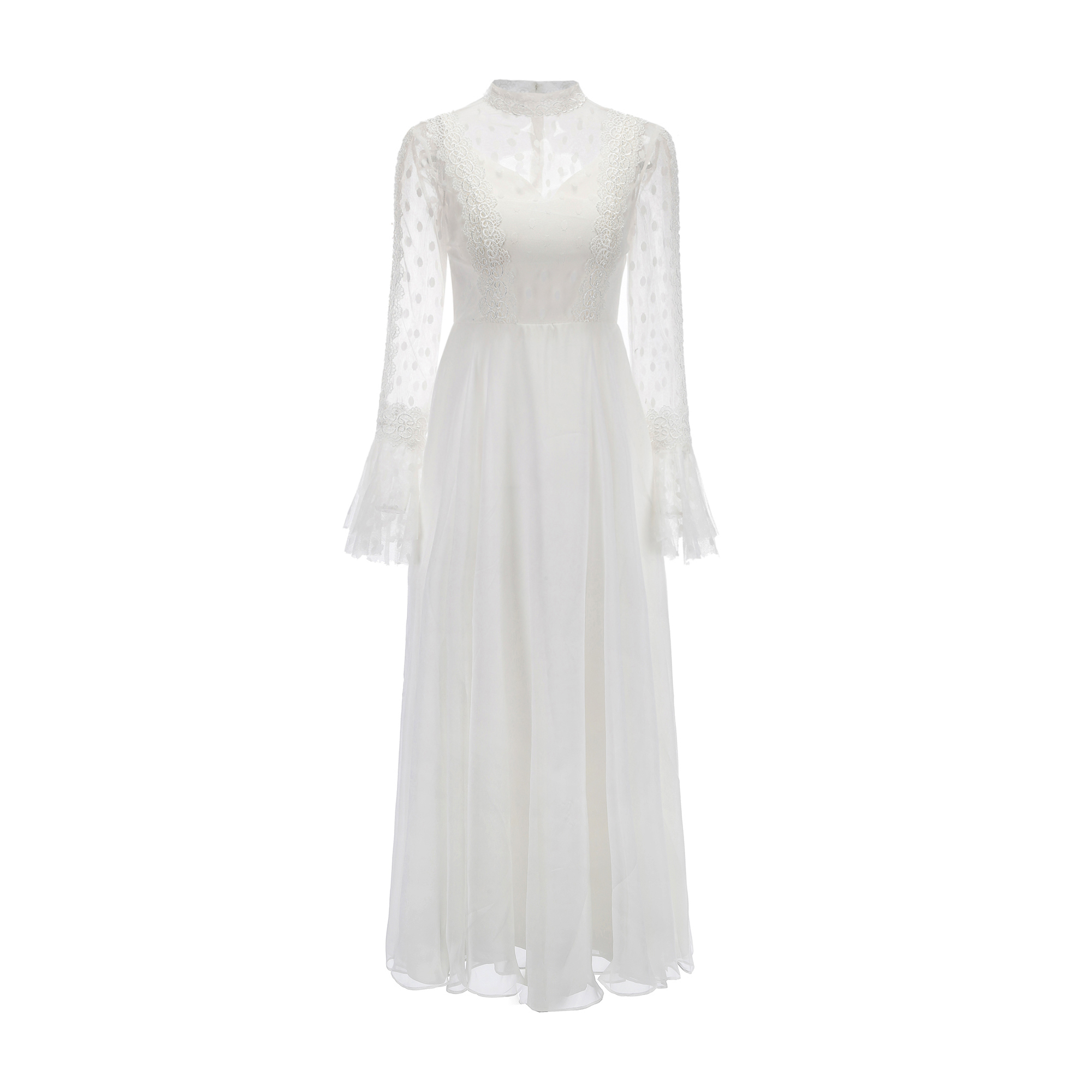 【DearWhite】ウェディングドレス Aライン プリンセス エンパイア デコルテ 結婚式 披露宴 二次会 パーティーウェディングドレス・カラードレス・サイズオーダー格安オーダーメイド DW00020