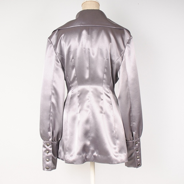 hs19SS-IR04 OVER JACKET - SATIN