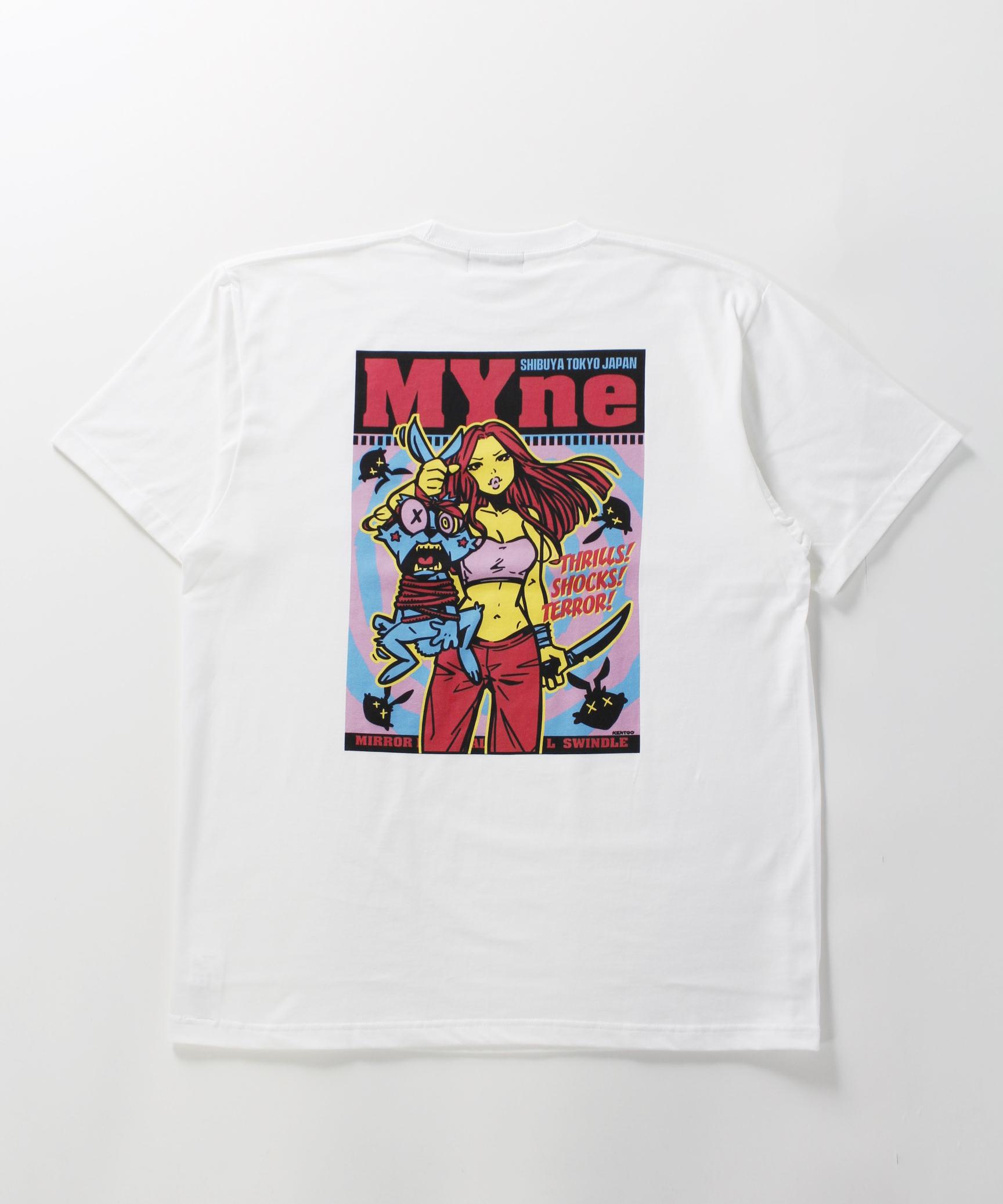 MYne CODEX 別注T-shirt / WHITE - 画像3