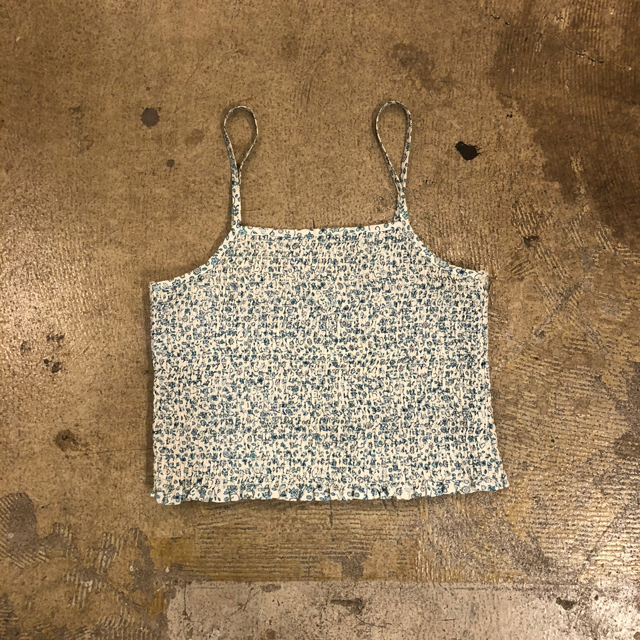 Cherokee Floral Cami Tops ¥4,000+tax