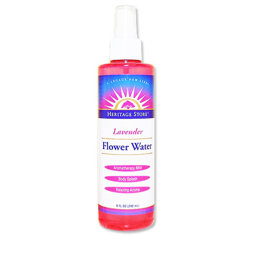 Heritage Products フラワーウォーター  ラベンダー  8 液量オンス (240 ml)