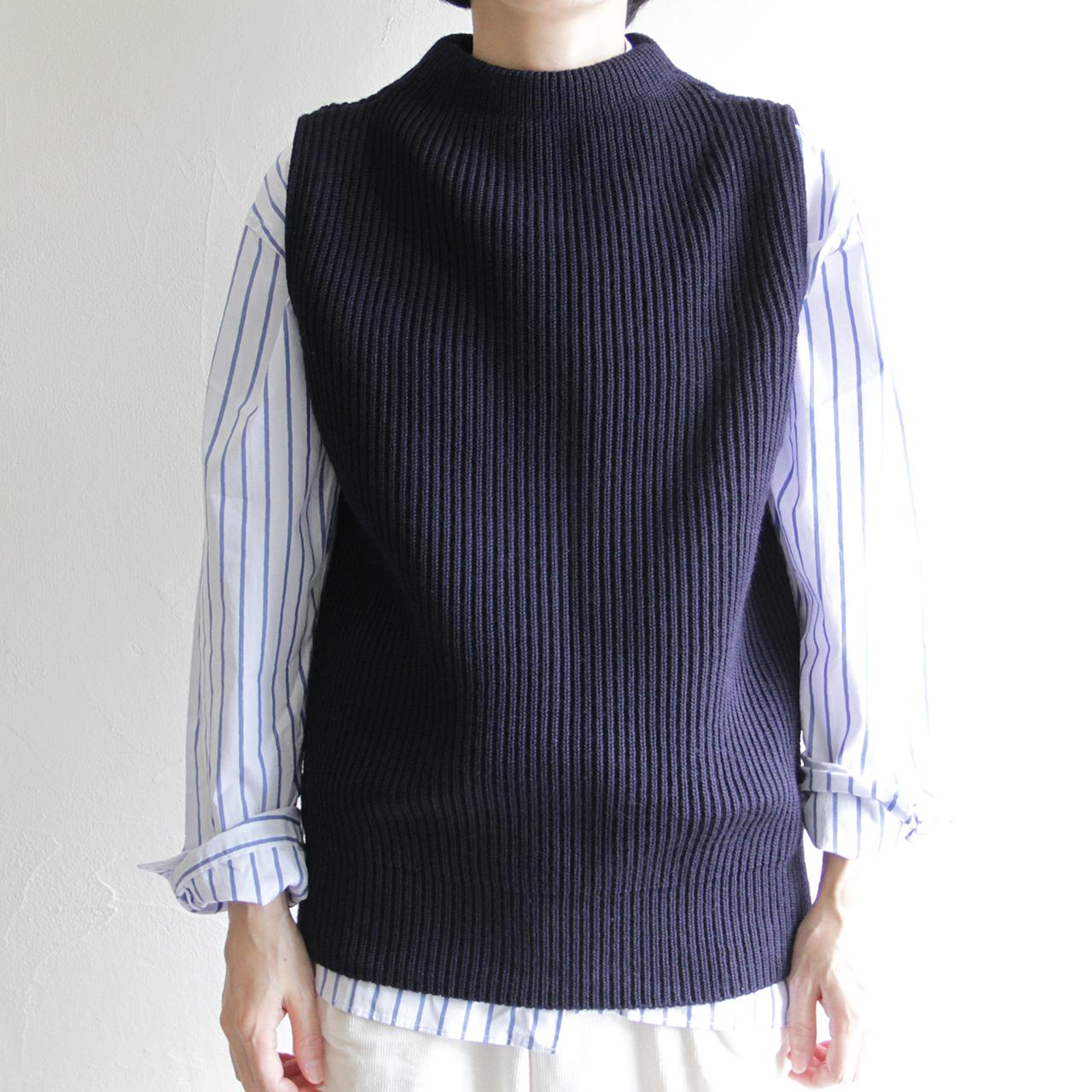 ANDERSEN ANDERSEN 【 womens 】navy vest