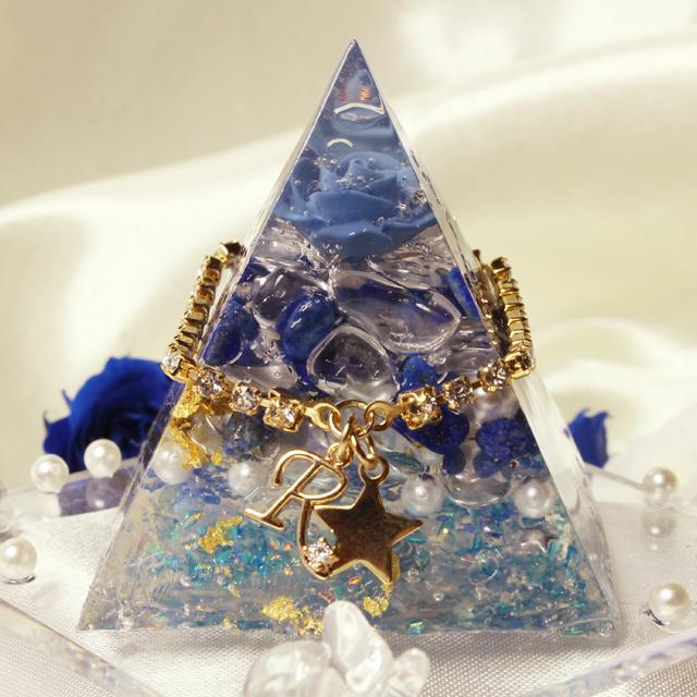 ドリームピラミッド(ラピスラズリ ブルーローズ) - 画像3