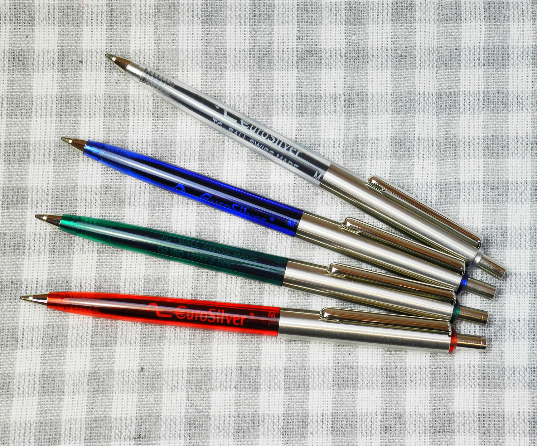 【Vintage品】 デッドストック ドイツ ブルガー トランスパレント ボールペン