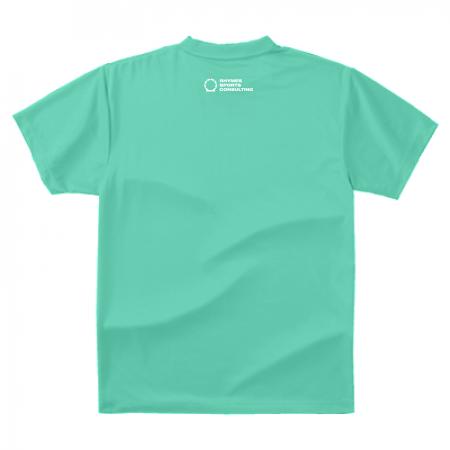 【ライトグリーン/ホワイト】SHOEHURRY! ドライTシャツ