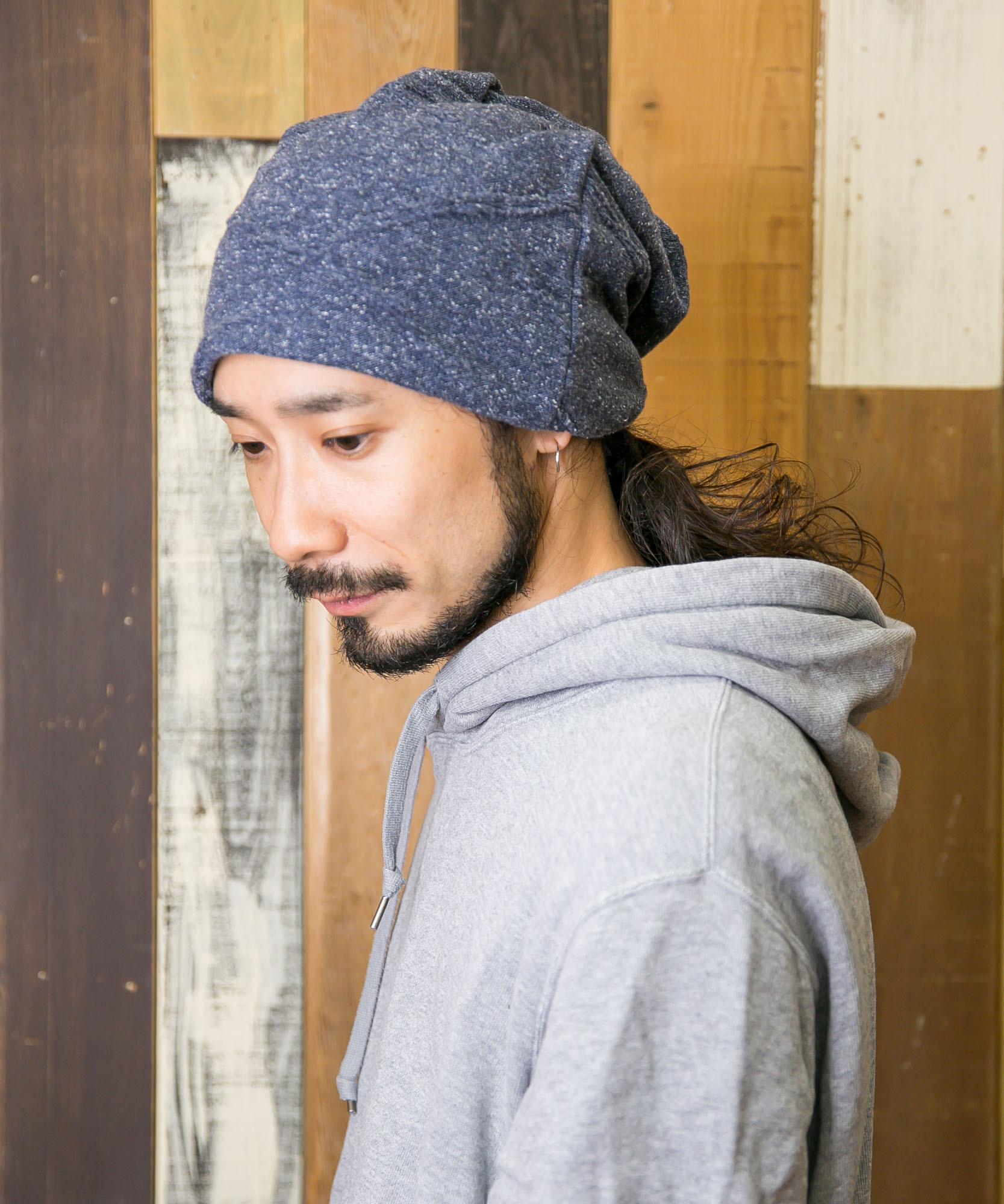 SUMMER NEP YARN OC 3WAY【サマーネップヤーンオーガニックコットン3ウェイ】