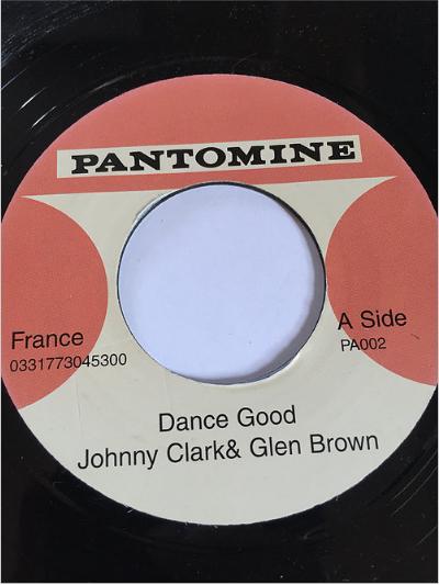 Johnny Clarke(ジョニークラーク) & Glen Brown(グレンブラウン) - Dance Good【7'】