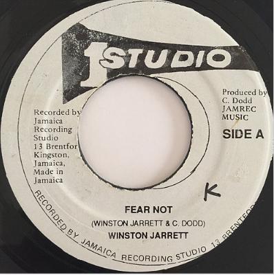 Winston Jarrett(ウィンストンジャレット) - Fear Not【7'】