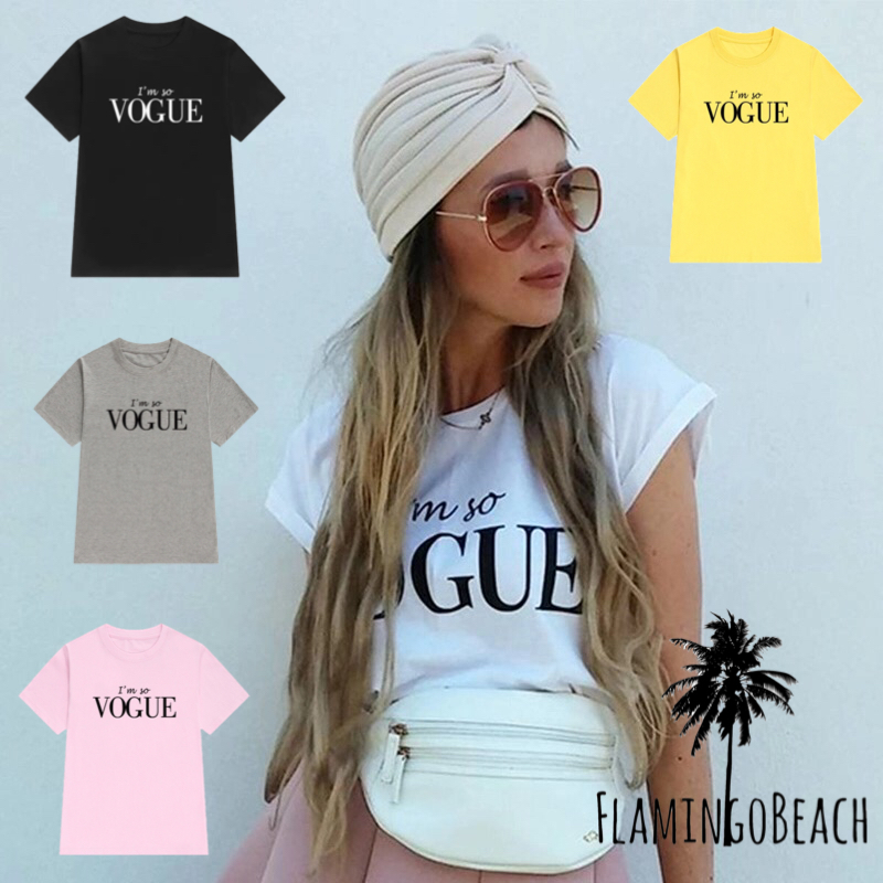 【FlamingoBeach】VOGUE Tシャツ