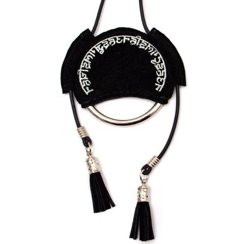 nahezu≒gleich / hindi necklace - 画像2
