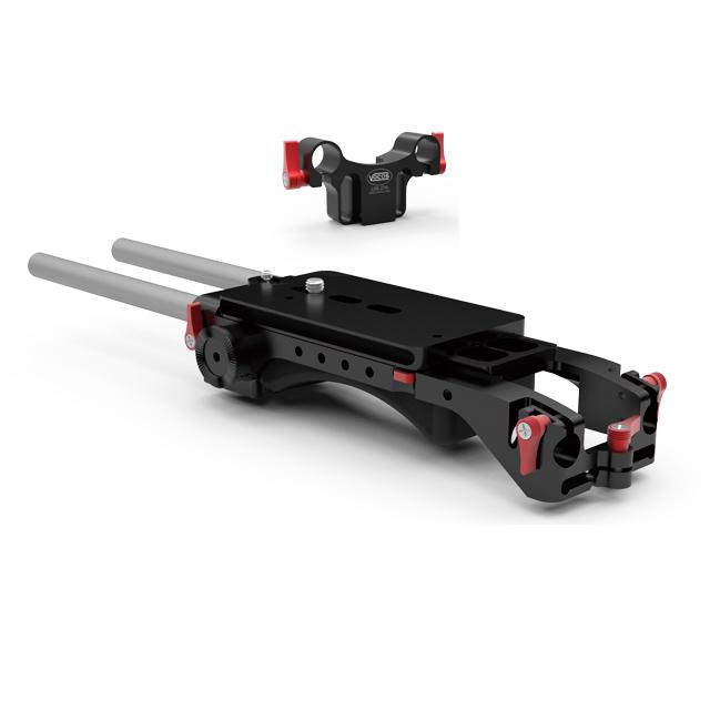 0350-2200-J2 : USBP-15 MKII ユニバーサル・ショルダーベースプレート ・キット2 (RED用)
