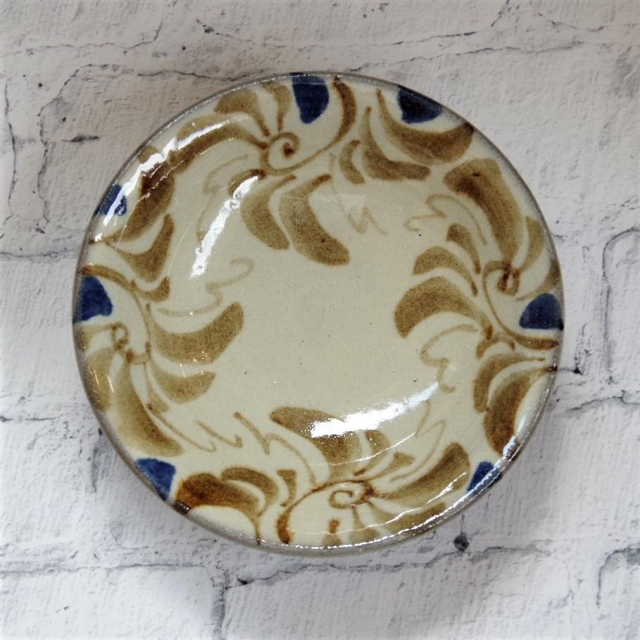 やちむん【南陶窯】4寸皿