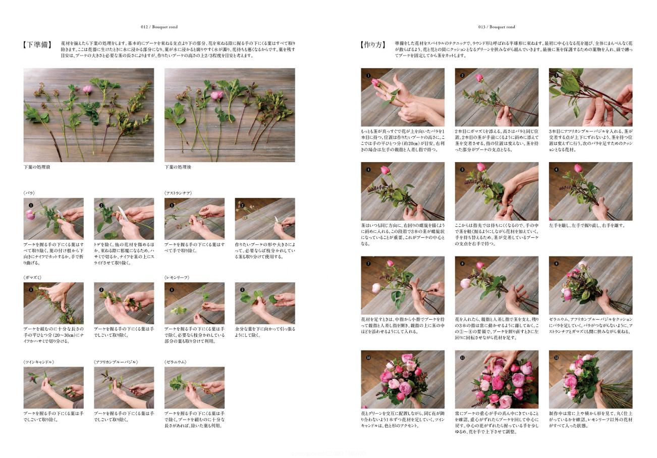 【送料無料】『ローラン・ボーニッシュのフレンチスタイルの花贈り』[書籍] - 画像3