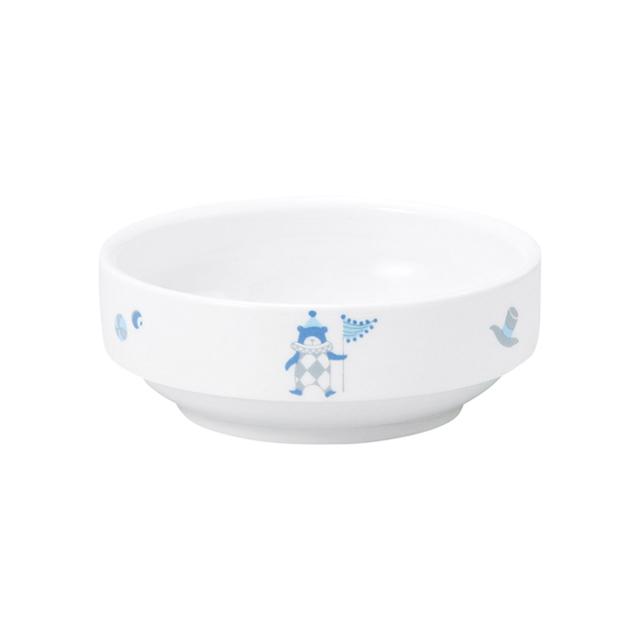 【1712-1300】強化磁器 11.5cm すくいやすい小鉢 シルク