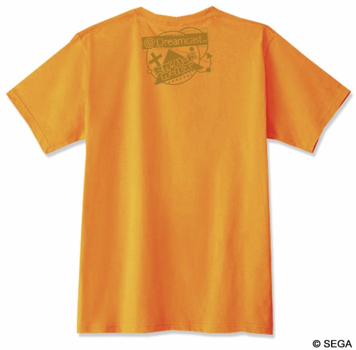ドリームキャスト Real x Virtual Tシャツ -オレンジ- / GAMES GLORIOUS
