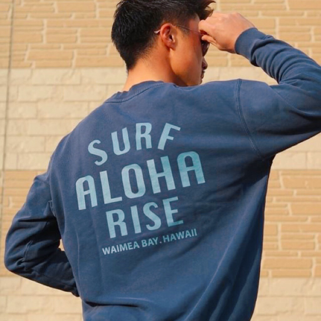 ALOHA RISE sweat - Vintage Navy
