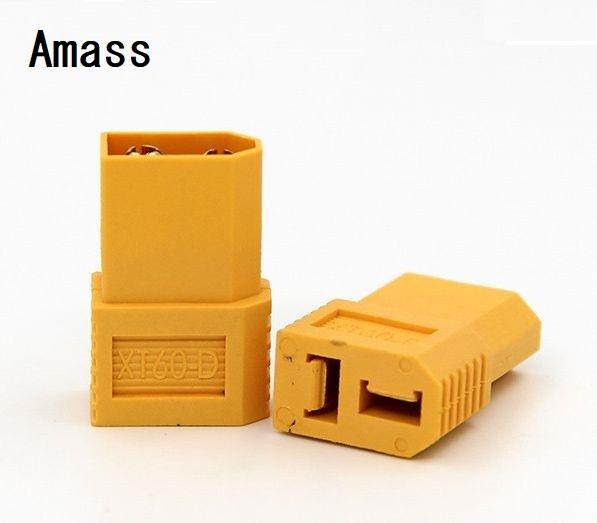 特価★ Amassブランド純正品★XT60コネクターのリポをT型コネクタに変換するアダプタ(1個の価格)