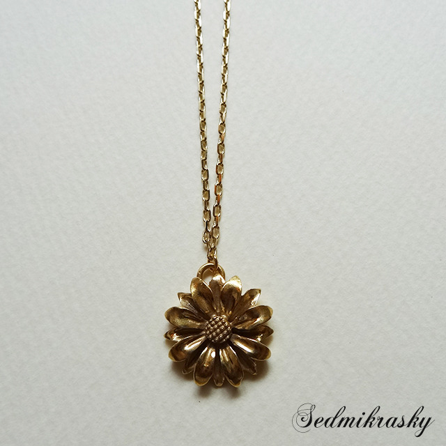 Sedmikrasky Necklace / Gold