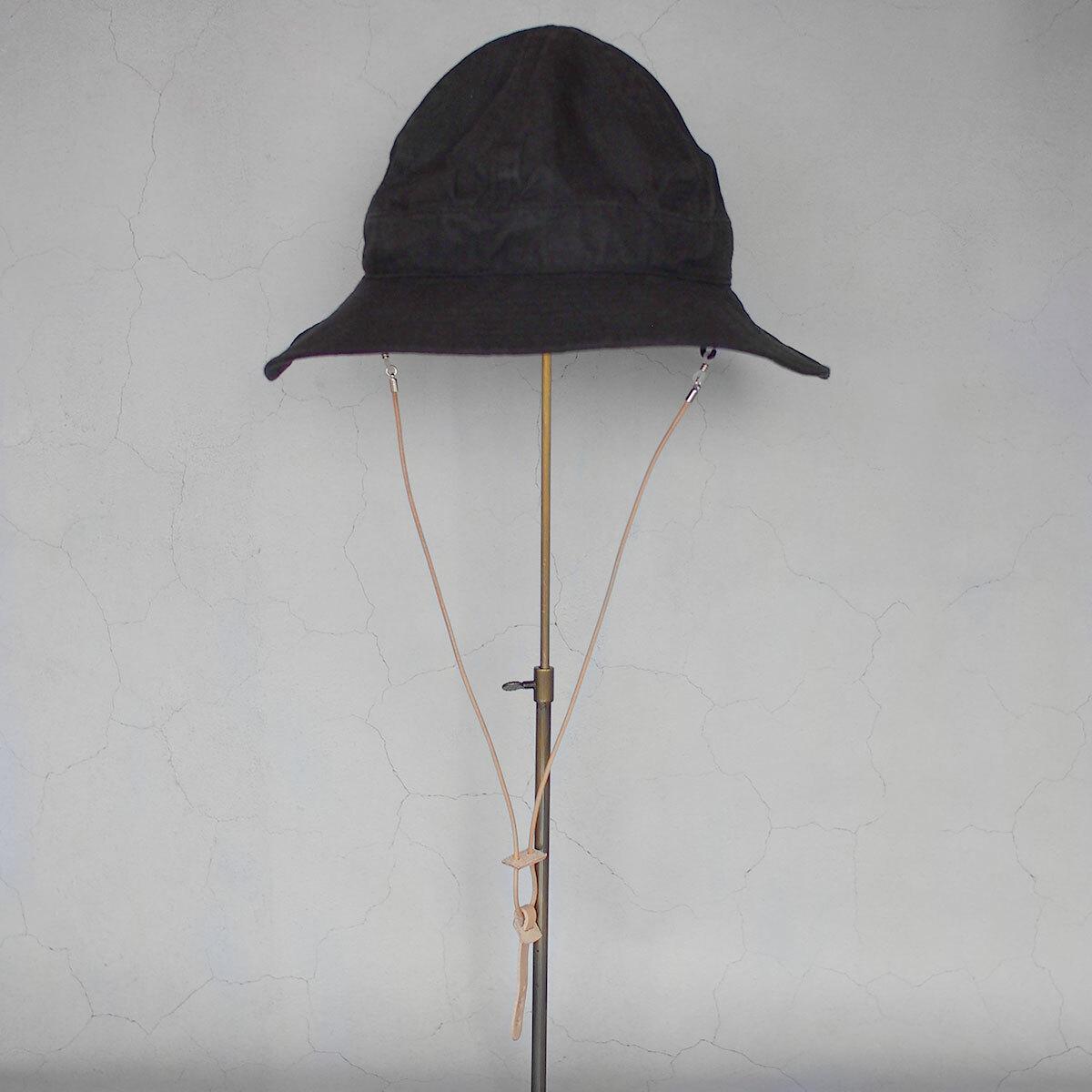 Nine Tailor Halesia Hat Top Black