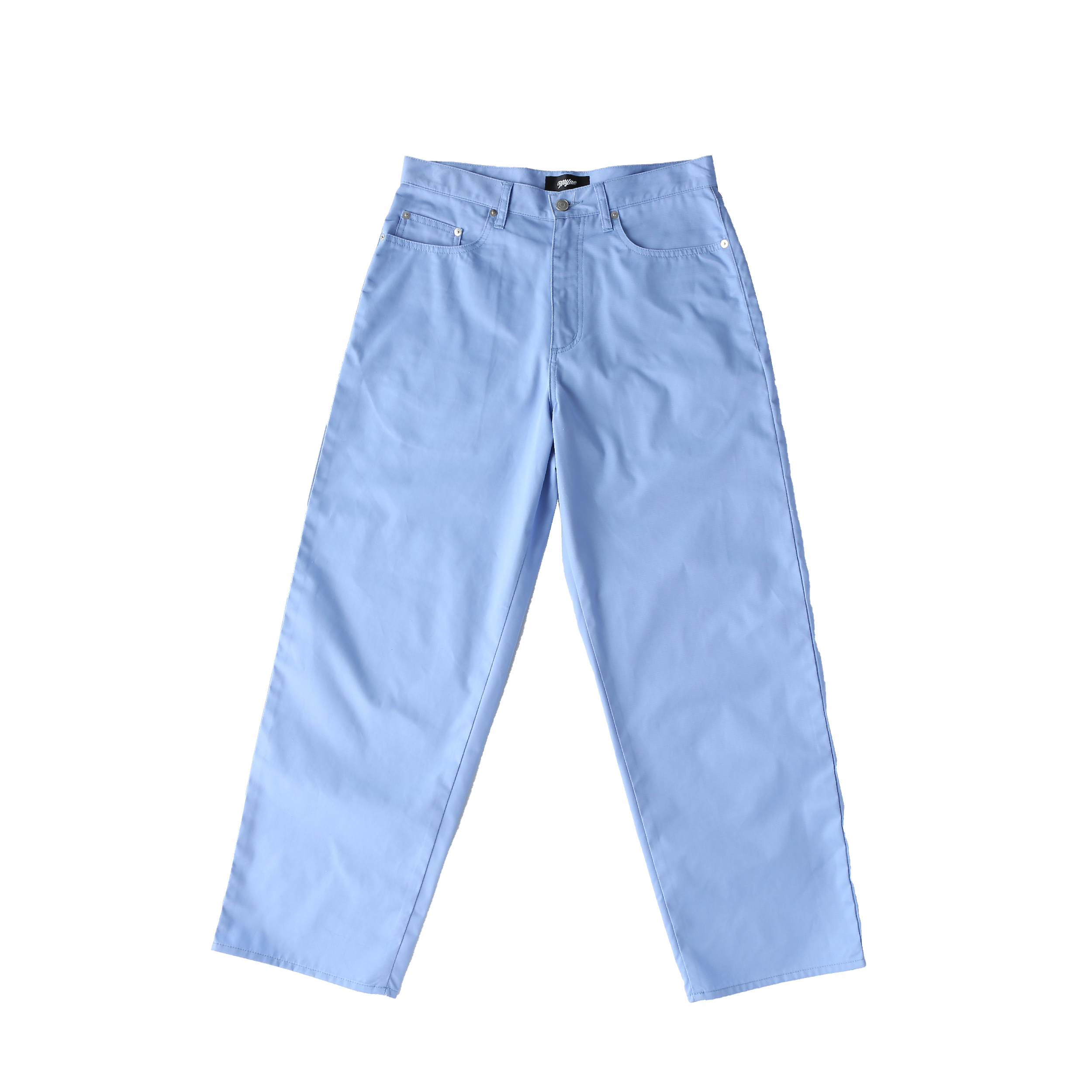 Wappen baggy pants / BLUE - 画像1