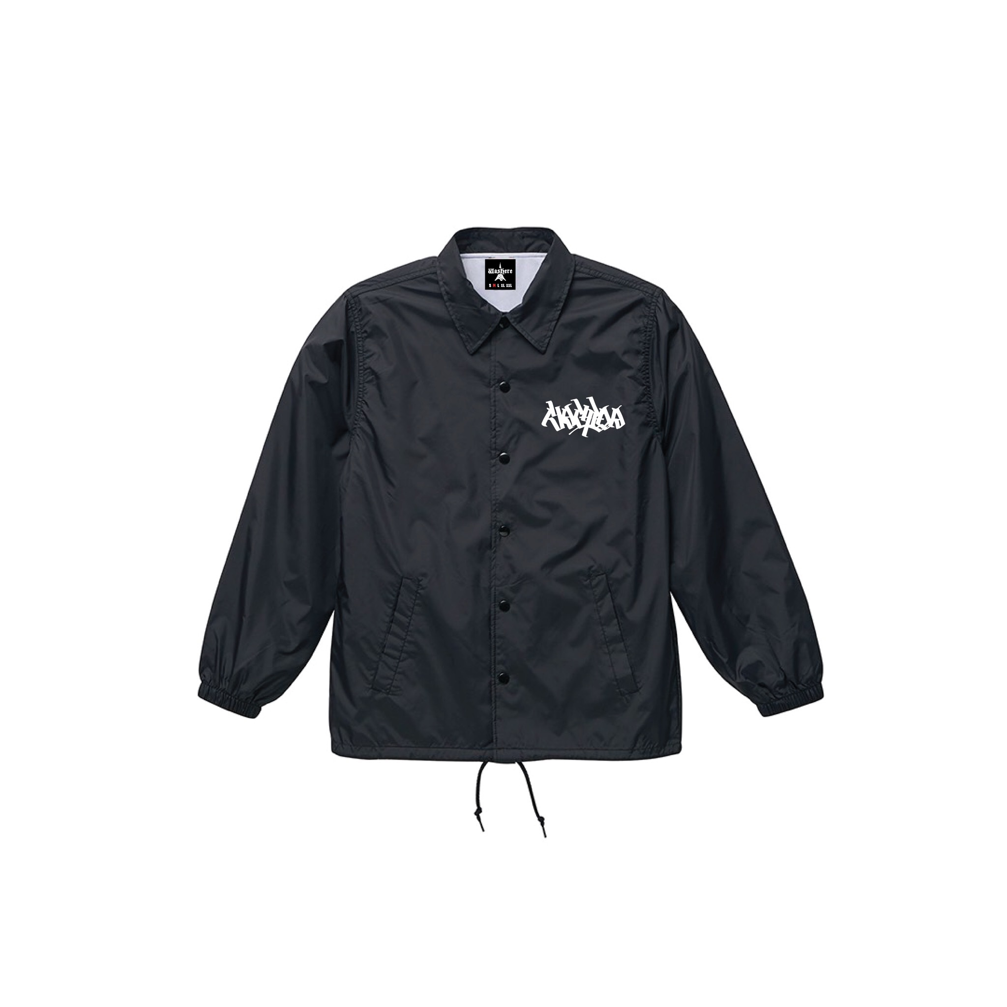 "WasHere x RepMCD  ""EXPLICIT CITY COACH JKT"""