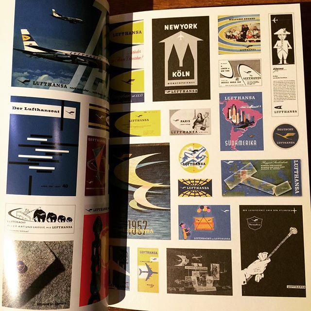 デザインの本「Lufthansa and Graphic Design」 - 画像2