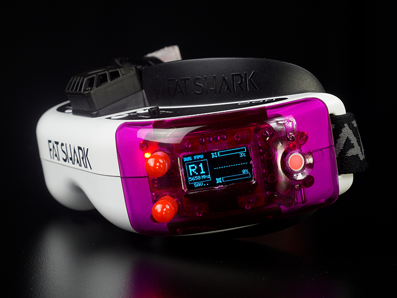 FuriousFPV True-D X Cover Bundle - Purple