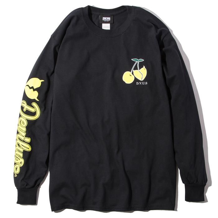 Deviluse(デビルユース) | Cherry L/S T-shirts(Black)