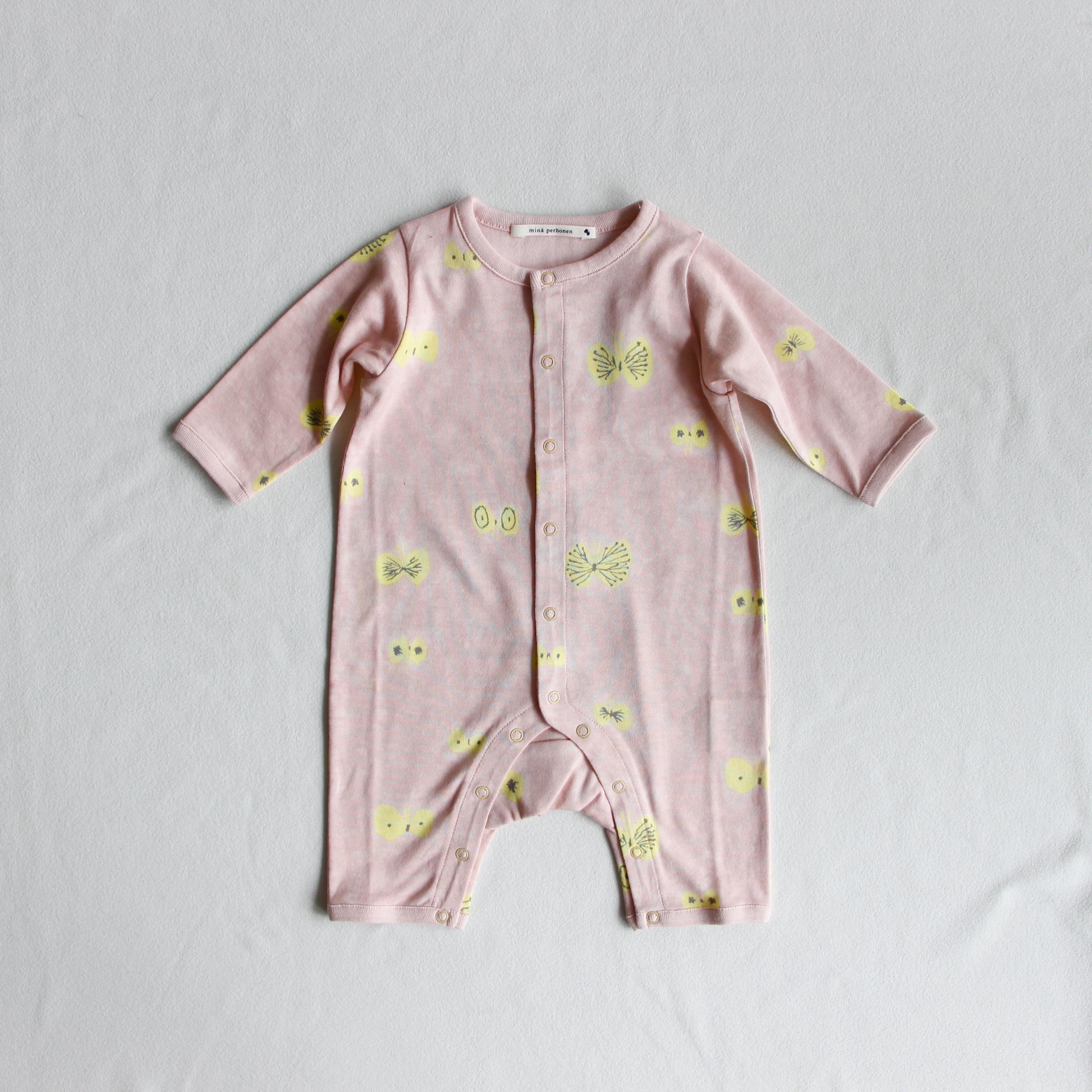 《mina perhonen》hana hane ロンパース / light pink