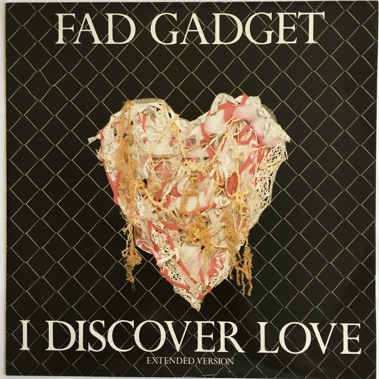 【12inch・英盤】Fad Gadget / I Discover Love (Extended Version)
