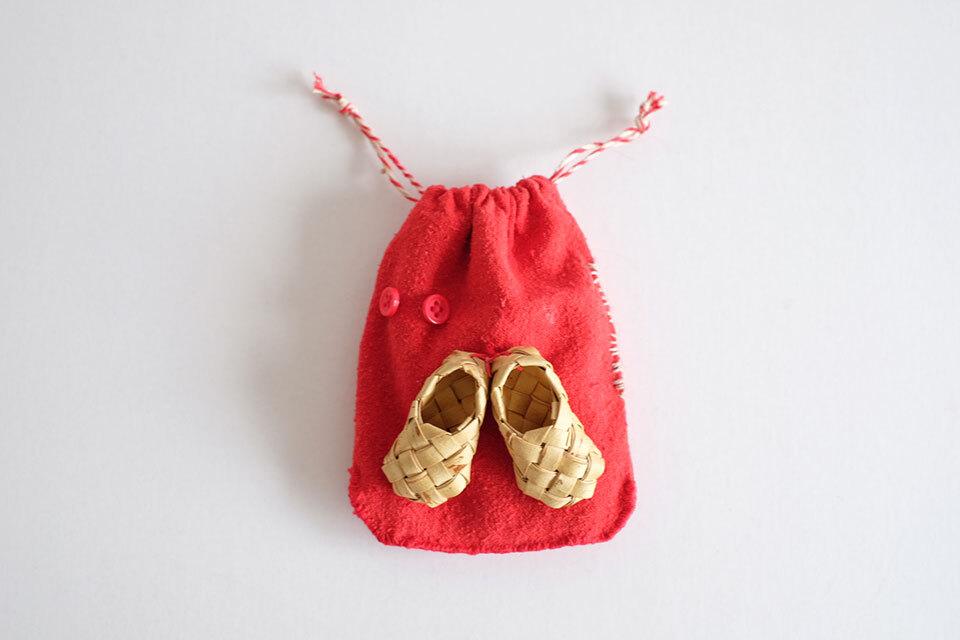 小人の靴のためのリュックサック