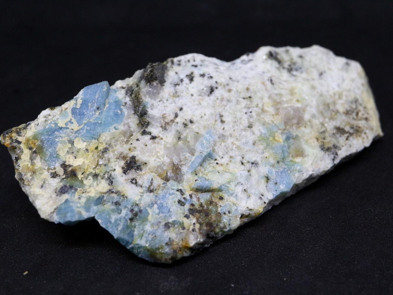 ブルーベリルアクアマリン カリフォルニア産  31,9g 原石 AQ051 鉱物 原石 天然石 パワーストーン
