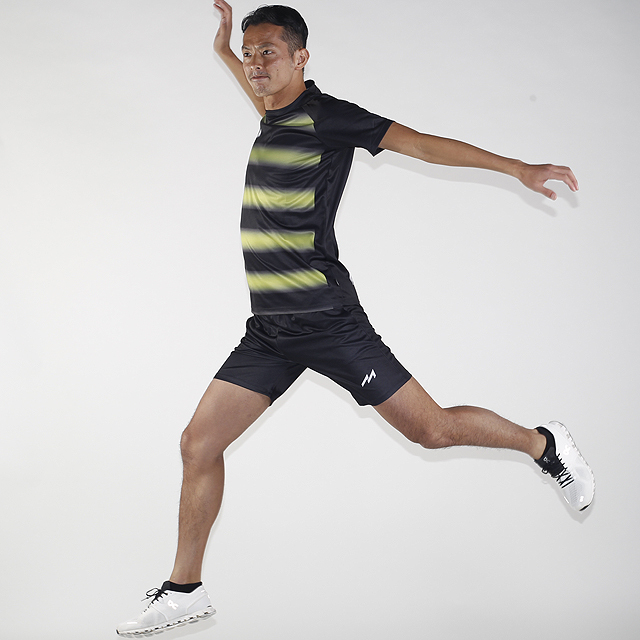 Neon Border Practice Shirts(YEL×BLK)