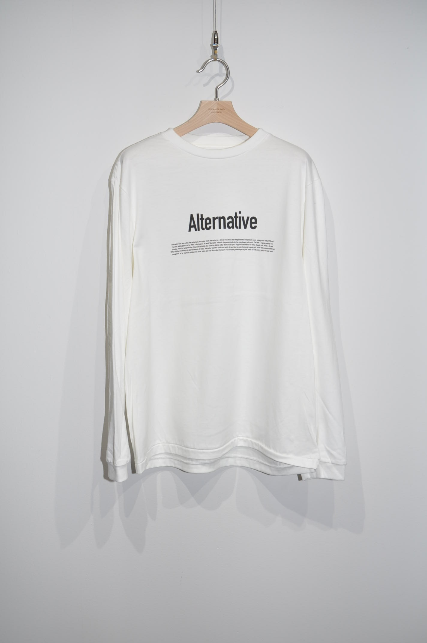 残り1着【JOHN MASON SMITH】ALTERNATIVE L/S