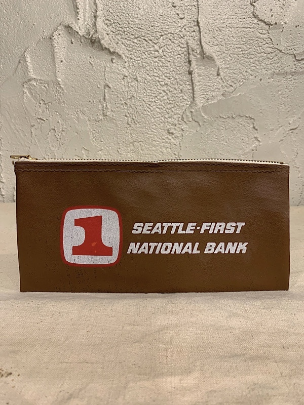 "BANK BAG "" SEATTLE-FIRST NATIONAL BANK """