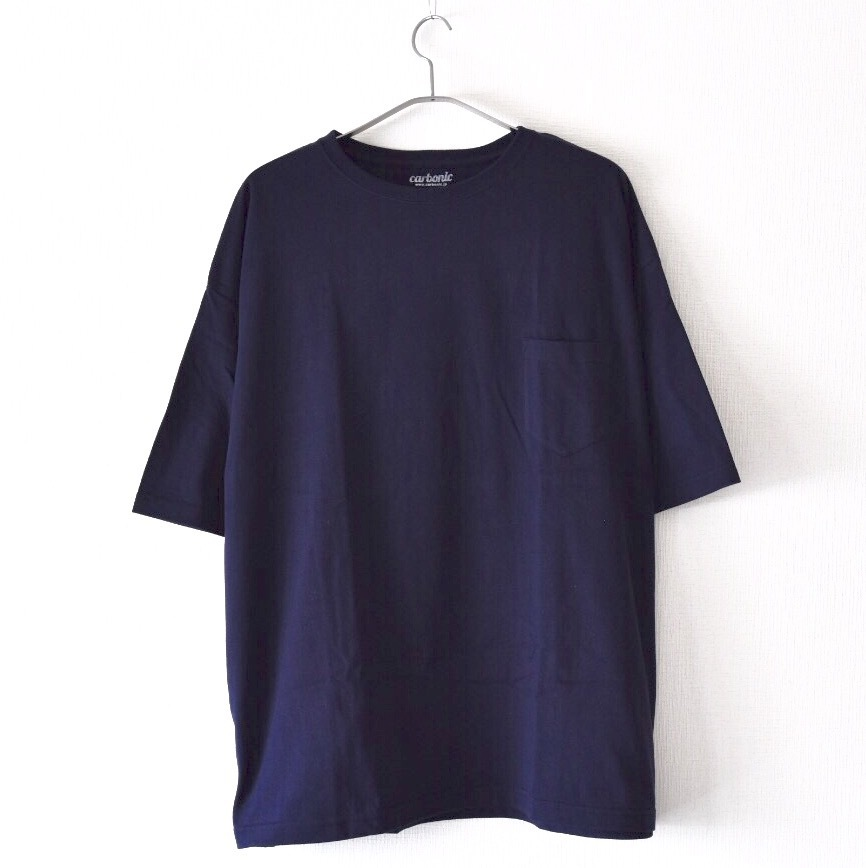 carbonic BIG silhouette pocket s/s