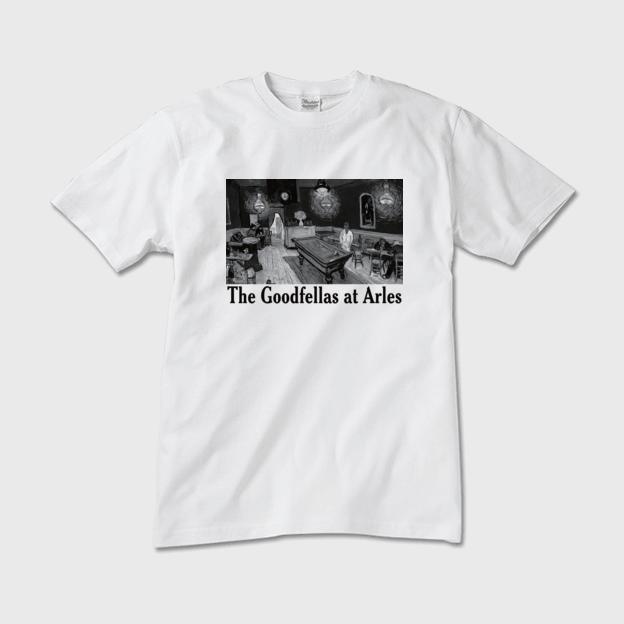 ゴッホ「夜のカフェ」 グッドフェローズTシャツ