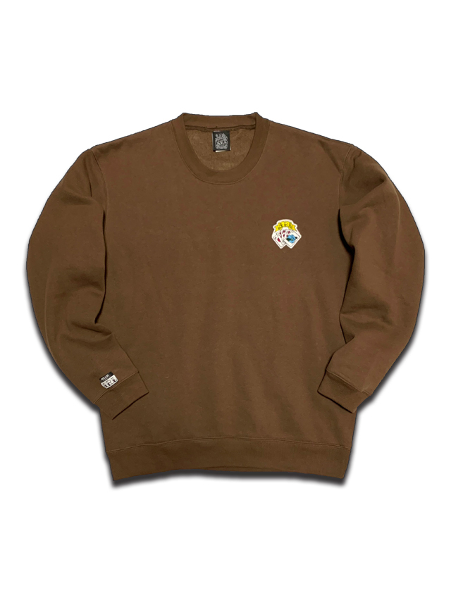 TRUMP PATCH SWEAT brown