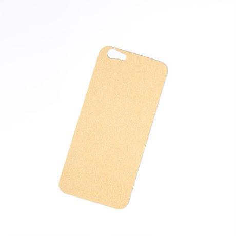 iPhone 6/6s バックプレート アルカンターラ シャンパン